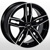 Автомобильный колесный диск R15 4*100 ZW-2788 BP - W6.5 Et38 D67.1