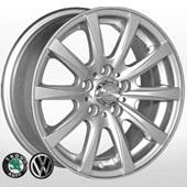 Автомобильный колесный диск R14 5*100 ZW-3102 Silv (Skoda, VW) - W6 Et35 D57.1