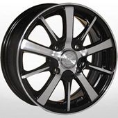 Автомобильный колесный диск R13 4*114,3 ZW-3120 BP - W4.5 Et40 D69.1