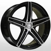 Автомобильный колесный диск R16 5*108 ZW-3143 BP - W7 Et40 D67.1