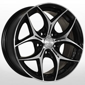 Автомобильный колесный диск R16 5*114,3 ZW-3206 BP - W7.0 Et38 D67.1