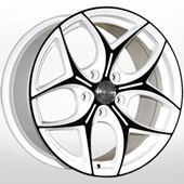 Автомобильный колесный диск R14 4*98 ZW-3206 CA-W-PB - W6 Et35 D58.6