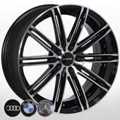 Автомобильный колесный диск R16 5*118 ZW-3303 BP - W7.0 Et40 D71.1