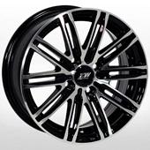 Автомобильный колесный диск R16 5*114,3 ZW-3303 BP - W7.0 Et40 D67.1