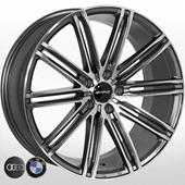 Автомобильный колесный диск R19 5*112 ZW-3303 MK-P (BMW, Audi) - W8.5 Et25 D66.6