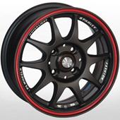 Автомобильный колесный диск R13 4*98 ZW-346 (RL)BLK-X/M - W5.5 Et20 D58.6
