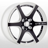 Автомобильный колесный диск R15 4*100 / 4*108 ZW-3717Z CA-(B)W14B - W6.5 Et35 D67.1
