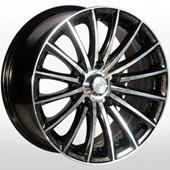 Автомобильный колесный диск R14 4*98 ZW-393 BE-P - W6 Et25 D58.6