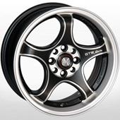 Автомобильный колесный диск R15 4*98 / 4*100 ZW-395 BP/M - W7 Et35 D67.1