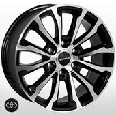 Автомобильный колесный диск R17 6*139,7 ZW-5312 BP (Toyota) - W7.5 Et25 D106.1