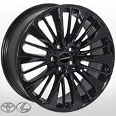 Автомобильный колесный диск R17 5*114,3 LX-5372 BLACK (Lexus, Toyota) - W7.0 Et40 D60.1