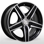 Автомобильный колесный диск R14 4*100 ZW-610 BP - W6.0 Et35 D67.1