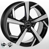 Автомобильный колесный диск R17 5*114,3 ZW-6360 BP (Nissan, Renault) - W7.0 Et40 D66.1
