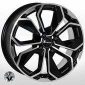 Автомобильный колесный диск R16 4*100 ZW-6362 BP (Renault) - W6.5 Et38 D60.1