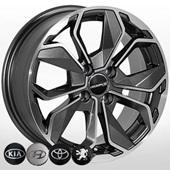 Автомобильный колесный диск R15 4*100 ZW-6362 MK-P - W6.5 Et38 D67.1