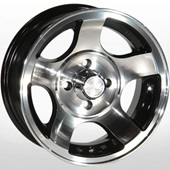 Автомобильный колесный диск R13 4*98 ZW-689 BP - W5.5 Et0 D58.6