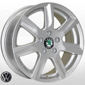 Автомобильный колесный диск R15 5*100 ZW-7314 SIL (Skoda, VW) - W6 Et40 D57.1