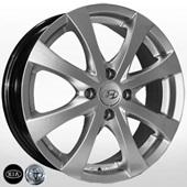 Автомобильный колесный диск R16 4*100 ZW-7345 HS (Kia, Hyundai, Toyota) - W6 Et48 D54.1