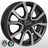 Автомобильный колесный диск R14 5*100 ZW-7365 EP (Skoda, VW) - W5.0 Et35 D57.1
