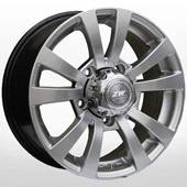 Автомобильный колесный диск R15 5*139,7 ZW-740 Silv - W6.5 Et20 D110.5