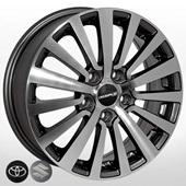 Автомобильный колесный диск R16 5*114,3 ZW-7448 MK-P (Toyota, Suzuki) - W6.0 Et48 D60.1