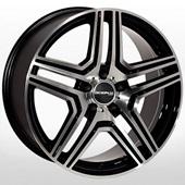 Автомобильный колесный диск R19 5*112 ZW-7601 BP (Mercedes) - W8.5 Et30 D66.6