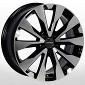 Автомобильный колесный диск R17 5*114,3 ZW-7727 BP - W7.0 Et48 D67.1