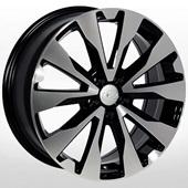 Автомобильный колесный диск R17 5*100 ZW-7727 BP (Subaru) - W7.0 Et48 D56.1