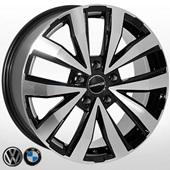 Автомобильный колесный диск R18 5*120 ZW-7779 BP (VW, BMW) - W7.5 Et43 D74.1