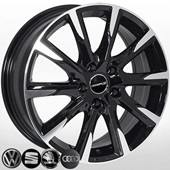Автомобильный колесный диск R17 5*112 VW-7839 BP (VW, Skoda, Audi) - W7.0 Et42 D66.6
