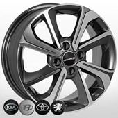 Автомобильный колесный диск R15 4*100 ZW-7854 MK-P (Kia, Hyundai) - W6.0 Et40 D54.1