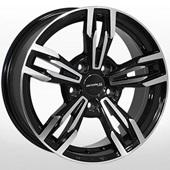 Автомобильный колесный диск R14 4*100 ZW-8104 BP - W6.0 Et35 D67.1