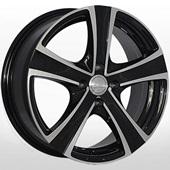 Автомобильный колесный диск R16 4*100 ZW-9504 BP - W6.5 Et43 D67.1