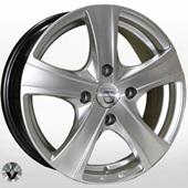 Автомобильный колесный диск R15 4*100 ZW-9504 HS (Renault, Dacia) - W6 Et43 D60.1