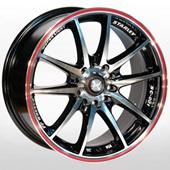 Автомобильный колесный диск R17 5*100 / 5*114,3 ZW-969 (RL)BPX - W7.0 Et42 D67.1