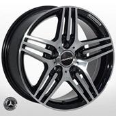 Автомобильный колесный диск R16 5*112 MB-146 BP (Mercedes) - W7.5 Et35 D66.6