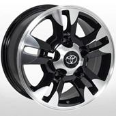 Автомобильный колесный диск R16 5*150 TY-148 BP (Toyota, Lexus) - W8.0 Et0 D110.1