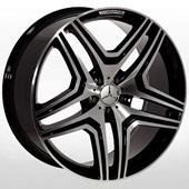 Автомобильный колесный диск R17 5*112 ZW-BK206 BP (Mercedes) - W8.0 Et35 D66.6