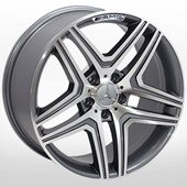 Автомобильный колесный диск R17 5*112 ZW-BK206 GP (Mercedes) - W8.0 Et35 D66.6