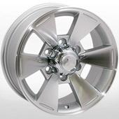 Автомобильный колесный диск R16 6*139,7 ZW-BK238 SP (Mitsubishi) - W7.0 Et10 D110.5