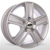 Автомобильный колесный диск R15 5*160 ZW-BK473 S (Ford) - W6.5 Et60 D65.1