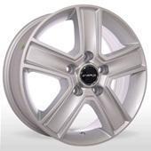 Автомобильный колесный диск R16 5*130 ZW-BK473 S (Renault) - W6.5 Et55 D89.1