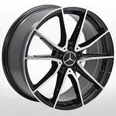 Автомобильный колесный диск R19 5*112 ZW-BK5015 BP (Mercedes) - W8.0 Et45 D66.6