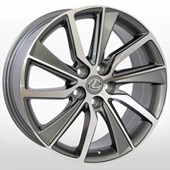 Автомобильный колесный диск R18 5*114,3 ZW-BK5039 GP (Lexus) - W8.0 Et38 D60.1