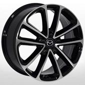 Автомобильный колесный диск R18 5*114,3 ZW-BK5096 BP - W7.5 Et50 D67.1