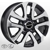Автомобильный колесный диск R20 5*150 TY-5118 BP (Lexus, Toyota) - W8.5 Et45 D110.2