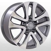 Автомобильный колесный диск R18 5*150 ZW-BK5118 GP (Toyota, Lexus) - W8.0 Et45 D110.2