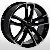 Автомобильный колесный диск R18 5*112 ZW-BK5126 BP (Audi) - W8.0 Et39 D66.6