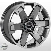 Автомобильный колесный диск R16 6*114,3 ZW-BK5133 GP (Nissan) - W7.0 Et30 D66.1