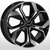 Автомобильный колесный диск R15 4*98 FT-5168 BP (Fiat) - W6.5 Et44 D58.1